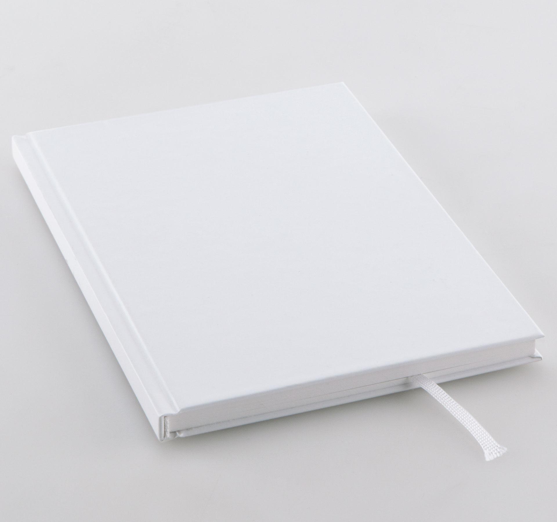 Hardcover mit Kapitalband und Leseband